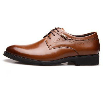 MUHUISEN Men Classic Business Metal Decor Dress ShoesFormal Shoes<br>MUHUISEN Men Classic Business Metal Decor Dress Shoes<br><br>Brand: MUHUISEN<br>Closure Type: Lace-Up<br>Contents: 1 x Pair of Shoes, 1 x Box<br>Function: Slip Resistant<br>Lining Material: Pigskin<br>Materials: Pigskin, Rubber, Leather<br>Occasion: Tea Party, Party, Office, Formal, Dress, Casual, Daily<br>Outsole Material: Rubber<br>Package Size ( L x W x H ): 32.00 x 16.00 x 12.00 cm / 12.6 x 6.3 x 4.72 inches<br>Package weight: 1.3000 kg<br>Pattern Type: Solid<br>Product weight: 1.1000 kg<br>Seasons: Autumn,Spring<br>Style: Casual, Business, Comfortable, Fashion, Formal, Leisure, Modern<br>Toe Shape: Round Toe<br>Type: Casual Leather Shoes<br>Upper Material: Leather