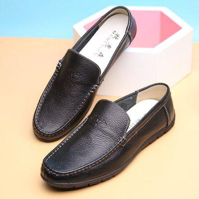 MUHUISEN Men Ultralight Soft Driving Flat LoafersFlats &amp; Loafers<br>MUHUISEN Men Ultralight Soft Driving Flat Loafers<br><br>Brand: MUHUISEN<br>Closure Type: Slip-On<br>Contents: 1 x Pair of Shoes, 1 x Box<br>Function: Slip Resistant<br>Materials: Rubber, Leather<br>Occasion: Tea Party, Shopping, Party, Office, Casual, Daily, Holiday<br>Outsole Material: Rubber<br>Package Size ( L x W x H ): 32.00 x 16.00 x 12.00 cm / 12.6 x 6.3 x 4.72 inches<br>Package weight: 0.9000 kg<br>Pattern Type: Solid<br>Product weight: 0.7000 kg<br>Seasons: Autumn,Spring<br>Style: Modern, Leisure, Fashion, Comfortable, Business, Casual<br>Toe Shape: Round Toe<br>Type: Flat Shoes<br>Upper Material: Leather