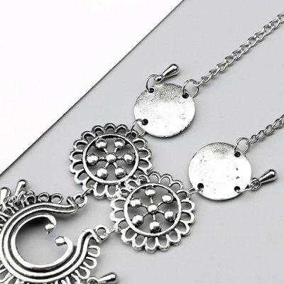 Women Charm Hollow Flowers Water-drop Anklet BraceletBracelets &amp; Bangles<br>Women Charm Hollow Flowers Water-drop Anklet Bracelet<br><br>Occasions: Casual, Party, Performance