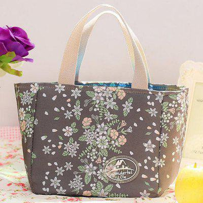 HESSION Waterproof Food Picnic Lunch Box Tote Carry Bag