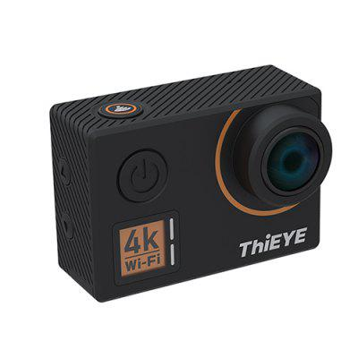 ThiEYE T5 Edge Native 4K WiFi Action CameraAction Cameras<br>ThiEYE T5 Edge Native 4K WiFi Action Camera<br><br>Anti-shake: Yes<br>Application: Underwater, Aerial Photography, Bike, Extreme Sports, Motorcycle, Ski<br>Audio System: Built-in microphone/speaker (AAC)<br>Battery Capacity (mAh): 1100mAh<br>Battery Type: Built-in<br>Brand: ThiEYE<br>Camera Pixel: 14MP<br>Camera Timer: Yes<br>Charge way: USB charge by PC<br>Charging Time: 2h<br>Chipset: iCatch V50<br>Exposure Compensation: +2EV,-2EV<br>Features: Mini, Wireless<br>Image Format: JPG<br>Image resolutions: 3648 x 2736 (10MP), 3264 x 2448 (8MP), ( 4352 ? 3264 ) 14M<br>ISO: 3200,Auto,ISO100,ISO1600,ISO200,ISO400,ISO800<br>Lens Diameter: 17mm<br>Model: T5 Edge<br>Package Contents: 1 x Action Camera with Waterproof Case, 1 x Transparent Backdoor, 2 x Helmet Mount, 1 x USB Data Cable ( 92cm ), 1 x Cleaning Cloth, 1 x English User Manual, 2 x Adhesive Sticker, 1 x Remote Control,<br>Package size (L x W x H): 27.00 x 15.00 x 8.50 cm / 10.63 x 5.91 x 3.35 inches<br>Package weight: 0.5840 kg<br>Product size (L x W x H): 6.00 x 4.20 x 3.30 cm / 2.36 x 1.65 x 1.3 inches<br>Product weight: 0.0700 kg<br>Screen: With Screen<br>Screen resolution: 320x240<br>Screen size: 2.0inch<br>Screen type: LCD<br>Sensor: 14MP CMOS<br>Sensor size (inch): 1/2.3<br>Standby time: 4h<br>Time lapse: Yes<br>Type: Sports Camera<br>Type of Camera: 4K<br>Video format: MP4, H.264<br>Video Resolution: 1080P ( 1920 x 1080 ) ( 30fps ),1080P ( 1920 x 1080 ) 60fps,2.7K (30fps),4K ( 3840 x 2160 ) 30FPS,720P ( 1280 x 720 ) ( 120fps?,720P (30fps),720P (60fps)<br>Water Resistant: 60m ( with a waterproof case )<br>Waterproof: Yes<br>Wide Angle: 170 degree wide angle<br>WIFI: Yes<br>WiFi Distance: 10m<br>Working Time: 80mins at 4K / 30fps, 100min at 1080P