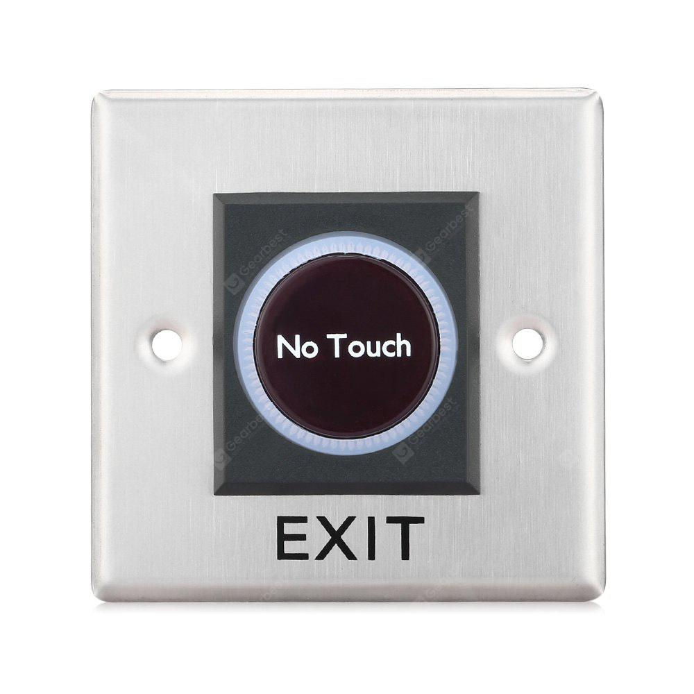 Infrared Stainless Steel No Touch Door Exit Touch Free Switch