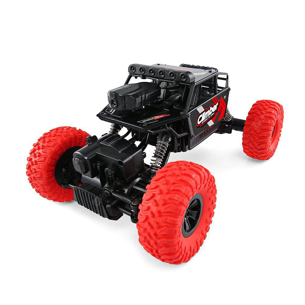 JJRC Q45 1/18 2.4GHz 4WD RC Off-road Car WiFi FPV - RED