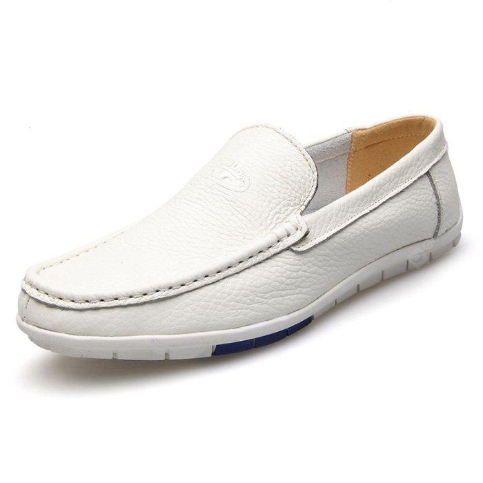 MUHUISEN Men Ultralight Soft Driving Flat Loafers