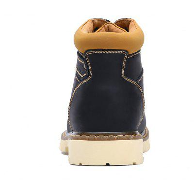 Casual Comfortable Leather Martin BootsMens Boots<br>Casual Comfortable Leather Martin Boots<br><br>Closure Type: Lace-Up<br>Contents: 1 x Pair of Boots<br>Materials: Rubber, Leather<br>Occasion: Outdoor Clothing, Holiday, Daily, Casual<br>Outsole Material: Rubber<br>Package Size ( L x W x H ): 33.00 x 24.00 x 13.00 cm / 12.99 x 9.45 x 5.12 inches<br>Package weight: 1.1000 kg<br>Product weight: 0.9000 kg<br>Seasons: Autumn,Spring,Winter<br>Style: Leisure, Fashion, Comfortable, Casual<br>Toe Shape: Round Toe<br>Type: Boots<br>Upper Material: Leather