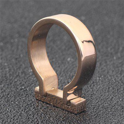 Horseshoe Smooth Rectangle Men RingRings<br>Horseshoe Smooth Rectangle Men Ring<br><br>Package Contents: 1 x Ring<br>Package size (L x W x H): 5.00 x 5.00 x 4.00 cm / 1.97 x 1.97 x 1.57 inches<br>Package weight: 0.0280 kg<br>Product weight: 0.0060 kg<br>Style: Fashion<br>Type: Rings