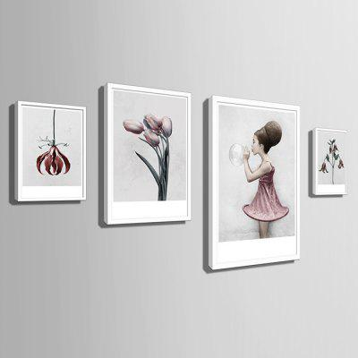 E - HOME Modern Canvas Prints Flower Hanging Wall Art 1PCPrints<br>E - HOME Modern Canvas Prints Flower Hanging Wall Art 1PC<br><br>Brand: E-HOME<br>Craft: Print<br>Form: One Panel<br>Material: Canvas<br>Package Contents: 1 x Print<br>Package size (L x W x H): 45.00 x 65.00 x 5.00 cm / 17.72 x 25.59 x 1.97 inches<br>Package weight: 1.5000 kg<br>Painting: Include Inner Frame<br>Product size (L x W x H): 40.00 x 60.00 x 2.20 cm / 15.75 x 23.62 x 0.87 inches<br>Product weight: 1.2000 kg<br>Shape: Vertical<br>Style: Modern<br>Subjects: Flower<br>Suitable Space: Living Room