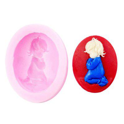 Facemile Lovely Creative Baby Design Silicone Cake Mold