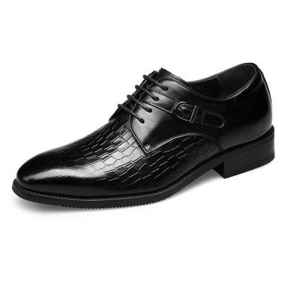 MUHUISEN Men Business Crocodile Embossed Dress ShoesFormal Shoes<br>MUHUISEN Men Business Crocodile Embossed Dress Shoes<br><br>Brand: MUHUISEN<br>Closure Type: Lace-Up<br>Contents: 1 x Pair of Shoes, 1 x Box<br>Function: Slip Resistant<br>Lining Material: Pigskin<br>Materials: Pigskin, Rubber, Leather<br>Occasion: Tea Party, Party, Office, Formal, Dress, Casual, Daily<br>Outsole Material: Rubber<br>Package Size ( L x W x H ): 32.00 x 16.00 x 12.00 cm / 12.6 x 6.3 x 4.72 inches<br>Package weight: 1.3000 kg<br>Pattern Type: Solid<br>Product weight: 1.1000 kg<br>Seasons: Autumn,Spring<br>Style: Casual, Business, Comfortable, Fashion, Formal, Leisure, Modern<br>Toe Shape: Pointed Toe<br>Type: Casual Leather Shoes<br>Upper Material: Leather