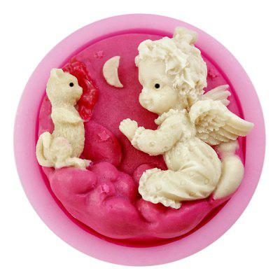 Facemile Lovely Angel Baby Design Silicone Cake Candy Mold