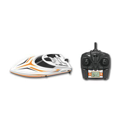 TKKJ H105 Skytech H100 Racing RC Boat -  ORANGE+WHITE
