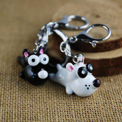 Big Eye Cute Dog Style Key Chain for Lovers 2PCSKey Chains<br>Big Eye Cute Dog Style Key Chain for Lovers 2PCS<br><br>Design Style: Fashion<br>Gender: Unisex<br>Materials: Metal, Resin<br>Package Contents: 2 x Key Chain<br>Package size: 6.00 x 12.50 x 3.00 cm / 2.36 x 4.92 x 1.18 inches<br>Package weight: 0.0263 kg<br>Product size: 2.80 x 4.50 x 3.50 cm / 1.1 x 1.77 x 1.38 inches<br>Product weight: 0.0235 kg<br>Theme: Animals