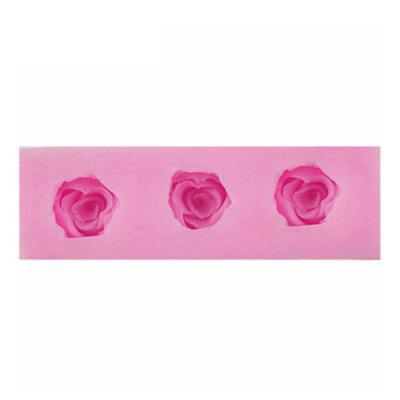 Facemile Rose Style Silicone Chocolate Cake Molds
