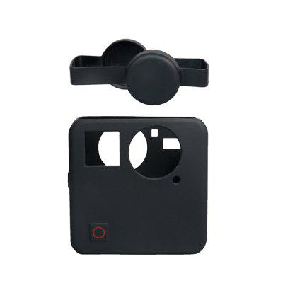 Silicone Protective Housing Case Lens Cap Cover Kit