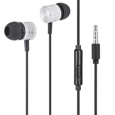 K22 Wired In-ear Earphones with Microphone Function
