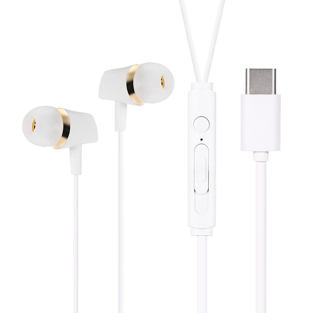 TY2 Type-C Stereo Portable In-ear Headphones