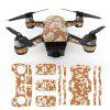 3D Stickers Cool Waterproof for DJI Spark Drone 1 Set - DESERT CAMOUFLAGE