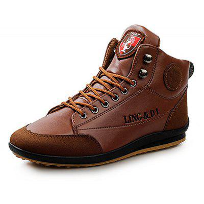 Men Stylish Warmest Soft Ankle Casual Leather ShoesCasual Shoes<br>Men Stylish Warmest Soft Ankle Casual Leather Shoes<br><br>Closure Type: Lace-Up<br>Contents: 1 x Pair of Shoes<br>Function: Slip Resistant<br>Lining Material: Leather<br>Materials: Leather, PU, Rubber<br>Occasion: Tea Party, Shopping, Party, Outdoor Clothing, Office, Casual, Daily, Holiday<br>Outsole Material: Rubber<br>Package Size ( L x W x H ): 25.00 x 6.00 x 5.00 cm / 9.84 x 2.36 x 1.97 inches<br>Package weight: 1.0000 kg<br>Product weight: 0.7900 kg<br>Seasons: Autumn,Spring,Winter<br>Style: Modern, Leisure, Fashion, Comfortable, Casual<br>Toe Shape: Round Toe<br>Type: Casual Leather Shoes<br>Upper Material: PU