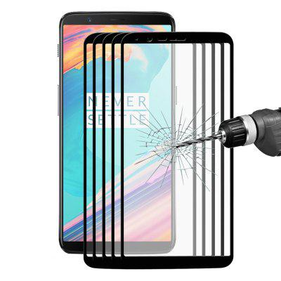 Hat - Prince Full Screen Protector for OnePlus 5T 5PCS
