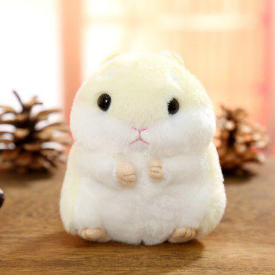 Stuffed Doll Hamster Style Key Chain