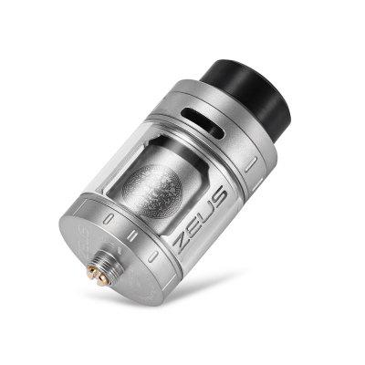 Original Geekvape Zeus RTARebuildable Atomizers<br>Original Geekvape Zeus RTA<br><br>Brand: Geekvape<br>Material: Stainless Steel, Glass<br>Model: Zeus<br>Package Contents: 1 x Zeus RTA, 1 x Allen Key, 1 x Spare Glass Tube, 1 x 510 Drip Tip, 1 x 810 Drip Tip, 2 x Wire, 13 x Silicone Ring, 4 x Screw<br>Package size (L x W x H): 8.00 x 7.00 x 5.00 cm / 3.15 x 2.76 x 1.97 inches<br>Package weight: 0.1230 kg<br>Product size (L x W x H): 2.50 x 2.50 x 4.55 cm / 0.98 x 0.98 x 1.79 inches<br>Product weight: 0.0500 kg<br>Rebuildable Atomizer: RTA<br>Type: Rebuildable Atomizer