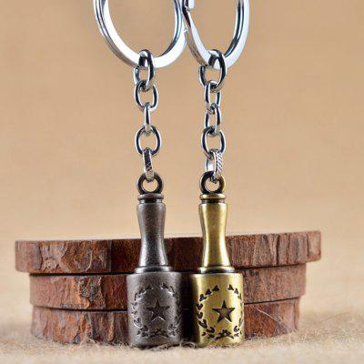 Zinc Alloy Grenade Style Key ChainKey Chains<br>Zinc Alloy Grenade Style Key Chain<br><br>Design Style: Fashion<br>Gender: Unisex<br>Materials: Zinc Alloy<br>Package Contents: 1 x Key Chain<br>Package size: 5.00 x 8.00 x 1.60 cm / 1.97 x 3.15 x 0.63 inches<br>Package weight: 0.0386 kg<br>Product size: 1.50 x 1.50 x 9.50 cm / 0.59 x 0.59 x 3.74 inches<br>Product weight: 0.0356 kg<br>Theme: Hang Decoration