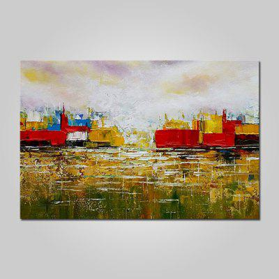 Mintura MT161020 Hand Painted Abstract Scenery Oil Painting