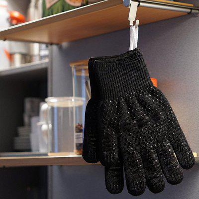 Non-slip Heat Resistant Oven Gloves Kitchen Mitts 1 PairBaking &amp; Pastry Tools<br>Non-slip Heat Resistant Oven Gloves Kitchen Mitts 1 Pair<br><br>Package Contents: 1 x Pair of Gloves<br>Package Size(L x W x H): 25.00 x 10.00 x 4.00 cm / 9.84 x 3.94 x 1.57 inches<br>Package weight: 0.3100 kg<br>Product Size(L x W x H): 31.00 x 16.00 x 3.00 cm / 12.2 x 6.3 x 1.18 inches<br>Product weight: 0.3000 kg