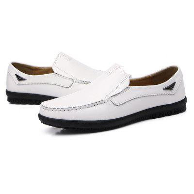 Male Casual Business Driving Flat Loafers Oxford ShoesMen's Oxford<br>Male Casual Business Driving Flat Loafers Oxford Shoes<br><br>Closure Type: Slip-On<br>Contents: 1 x Pair of Shoes, 1 x Box, 1 x Dustproof Paper<br>Function: Slip Resistant<br>Materials: Rubber, Leather<br>Occasion: Tea Party, Shopping, Office, Holiday, Party, Casual, Daily, Dress<br>Outsole Material: Rubber<br>Package Size ( L x W x H ): 33.00 x 24.00 x 13.00 cm / 12.99 x 9.45 x 5.12 inches<br>Package weight: 0.9000 kg<br>Pattern Type: Solid<br>Product weight: 0.7000 kg<br>Seasons: Autumn,Spring<br>Style: Modern, Leisure, Fashion, Comfortable, Casual, Business<br>Toe Shape: Round Toe<br>Type: Flat Shoes<br>Upper Material: Leather