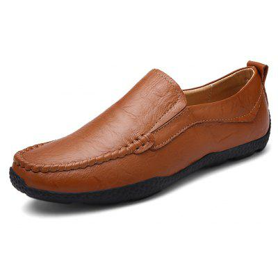 Men Manual Soft Stitching Flat Driving Oxford ShoesMen's Oxford<br>Men Manual Soft Stitching Flat Driving Oxford Shoes<br><br>Closure Type: Slip-On<br>Contents: 1 x Pair of Shoes, 1 x Box, 1 x Dustproof Paper<br>Function: Slip Resistant<br>Materials: Rubber, Leather<br>Occasion: Tea Party, Shopping, Office, Holiday, Party, Casual, Daily, Dress<br>Outsole Material: Rubber<br>Package Size ( L x W x H ): 33.00 x 24.00 x 13.00 cm / 12.99 x 9.45 x 5.12 inches<br>Package weight: 0.8000 kg<br>Pattern Type: Solid<br>Product weight: 0.6000 kg<br>Seasons: Autumn,Spring<br>Style: Modern, Leisure, Fashion, Comfortable, Casual, Business<br>Toe Shape: Round Toe<br>Type: Flat Shoes<br>Upper Material: Leather