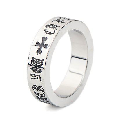 Creative Vintage Roman Letters Unisex RingRings<br>Creative Vintage Roman Letters Unisex Ring<br><br>Package Contents: 1 x Ring<br>Package size (L x W x H): 6.00 x 6.00 x 4.00 cm / 2.36 x 2.36 x 1.57 inches<br>Package weight: 0.0272 kg<br>Product weight: 0.0070 kg<br>Style: Fashion<br>Type: Rings