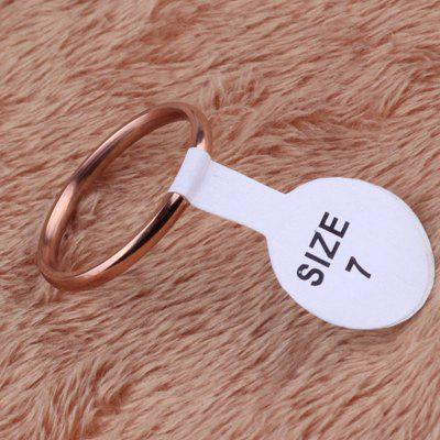 Simple Stainless Steel Women RingRings<br>Simple Stainless Steel Women Ring<br><br>Package Contents: 1 x Ring<br>Package size (L x W x H): 4.00 x 4.00 x 4.00 cm / 1.57 x 1.57 x 1.57 inches<br>Package weight: 0.0230 kg<br>Product weight: 0.0010 kg<br>Style: Fashion<br>Type: Rings