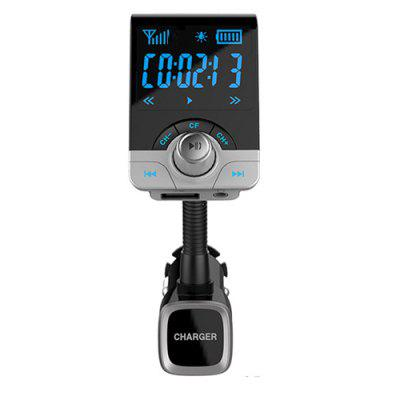 1,4-Zoll-Bluetooth-In-Auto-FM-Transmitter Wireless-Radio-Adapter