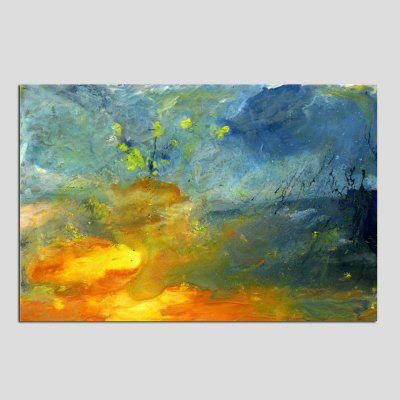 Mintura MT161014 Hand Painted Abstract Colorful Oil Painting