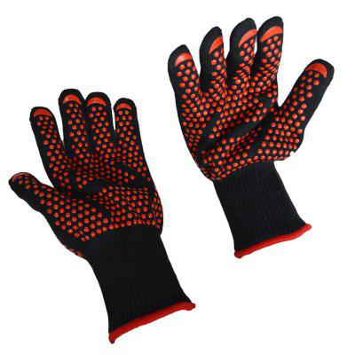Extreme Heat Resistant Gloves for BBQ Grilling Oven Cooking