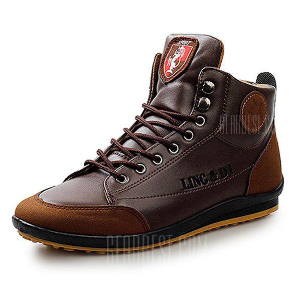 Men's Stylish Warmest Soft Ankle Casual Leather Shoes