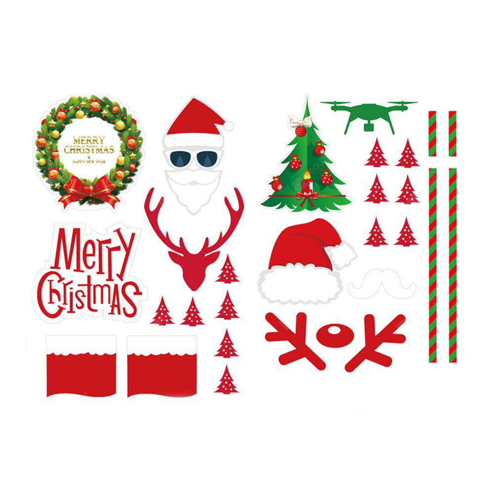 Christmas Style Sticker for DJI Drone