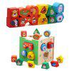 WUIBN Cartoon Shape Matching Educational Toy for Baby - COLORMIX