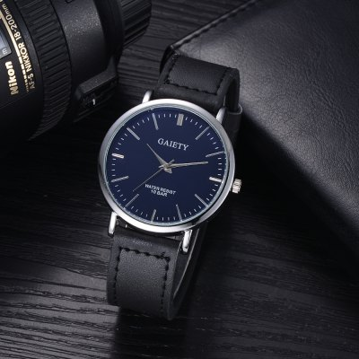 GAIETY G443 Mens Fashion Leather WatchMens Watches<br>GAIETY G443 Mens Fashion Leather Watch<br><br>Band material: PU Leather<br>Band size: 23.7x2 CM<br>Case material: Metal<br>Clasp type: Pin buckle<br>Dial size: 4x4x0.8 CM<br>Display type: Analog<br>Movement type: Quartz watch<br>Package Contents: 1xWatch<br>Package size (L x W x H): 23.00 x 5.00 x 1.00 cm / 9.06 x 1.97 x 0.39 inches<br>Package weight: 0.0400 kg<br>Product size (L x W x H): 23.70 x 4.00 x 0.80 cm / 9.33 x 1.57 x 0.31 inches<br>Product weight: 0.0330 kg<br>Shape of the dial: Round<br>Watch mirror: Mineral glass<br>Watch style: Business, Fashion, Casual<br>Watches categories: Men,Male table