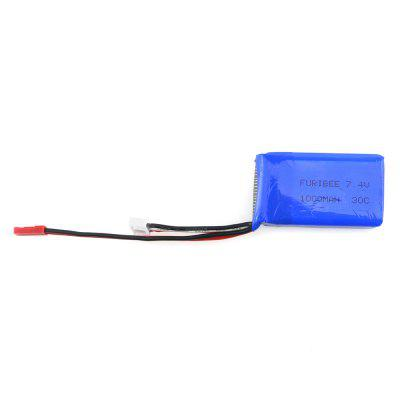 Original FuriBee 7.4V 1000mAh 30C Lithium-ion Battery