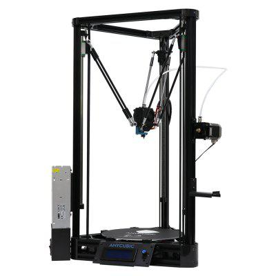 Anycubic Kossel Plus High-performance 3D Printer Kit3D Printers, 3D Printer Kits<br>Anycubic Kossel Plus High-performance 3D Printer Kit<br><br>Brand: Anycubic<br>Connector Type: USB, SD card<br>File format: STL, OBJ, G-code, AMF<br>Frame material: Aluminum<br>Host computer software: Cura<br>Layer thickness: 0.1-0.4mm<br>Material diameter: 1.75mm<br>Nozzle diameter: 0.4mm<br>Nozzle quantity: Single<br>Nozzle temperature: Room temperature to 260 degree<br>Package size: 73.00 x 40.00 x 14.00 cm / 28.74 x 15.75 x 5.51 inches<br>Package weight: 10.5000 kg<br>Packing Contents: 1 x 3D Printer Kit<br>Packing Type: unassembled packing<br>Platform board: Aluminum Base<br>Platform temperature: Room temperature to 100 degree<br>Print speed: 20 - 60mm/s<br>Product forming size: 23 x 23 x 30cm<br>Product size: 38.00 x 38.00 x 68.00 cm / 14.96 x 14.96 x 26.77 inches<br>Product weight: 7.0000 kg<br>Supporting material: ABS, HIPS, PLA, Wood<br>Type: DIY<br>Voltage: 110V/220V<br>XY-axis positioning accuracy: 0.012mm<br>Z-axis positioning accuracy: 0.0025mm