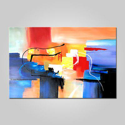 Mintura Abstract Style Oil Painting Hanging Wall Art