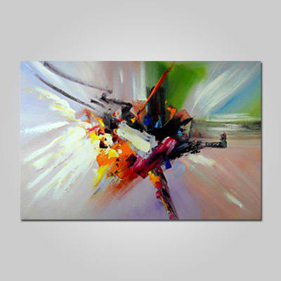 Mintura Canvas Oil Painting Abstract Style Hanging Artwork