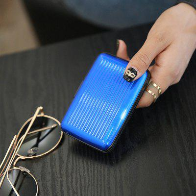 Stylish PVC Credit Card HolderCoin Purses&amp;Holders<br>Stylish PVC Credit Card Holder<br><br>Features: Wearable<br>For: Daily Use, Outdoor, Shopping, Traveling<br>Gender: Unisex<br>Material: PVC<br>Package Size(L x W x H): 13.00 x 5.00 x 10.00 cm / 5.12 x 1.97 x 3.94 inches<br>Package weight: 0.1400 kg<br>Packing List: 1 x Card Holder<br>Product Size(L x W x H): 10.00 x 2.00 x 6.00 cm / 3.94 x 0.79 x 2.36 inches<br>Product weight: 0.1200 kg<br>Style: Fashion, Business<br>Type: Card Holder