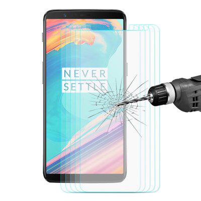 Hat - Prince Full Tempered Glass for OnePlus 5T 5PCS