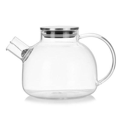 High Borosilicate Glass Heat Resistant Portable Teapot