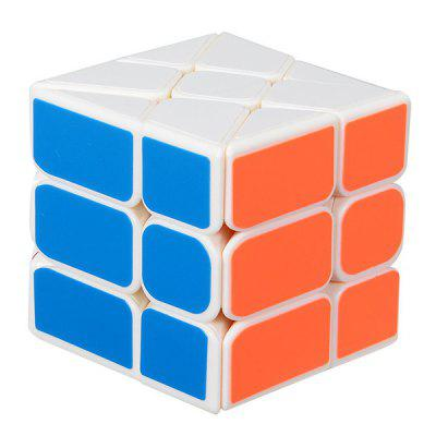 YJ 3 x 3 x 3 Fisher Speed Magic Cube Finger Puzzle Toy