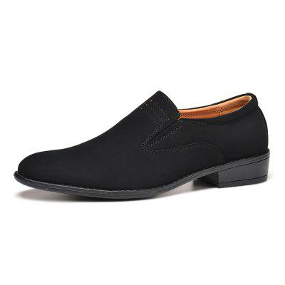Z6 Men Modern Simple Soft Driving Flat Loafers