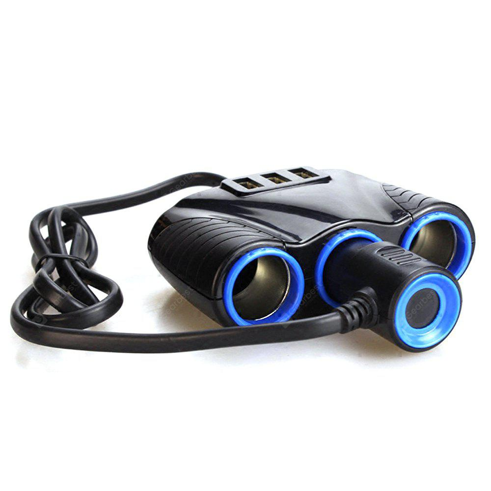 Cigarette Lighters Smart Car Charger with 3 USB Ports