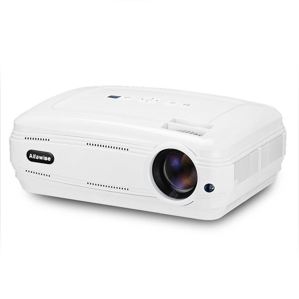 Alfawise X 3200 Lumens HD 1080P Smart Projector Support 4K - WHITE BASIC VERSION ( EU PLUG )